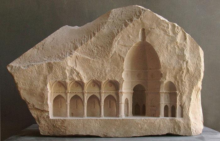 Миниатюрные произведения архитектурного искусства от Мэтью Симмондса (Matthew Simmonds).