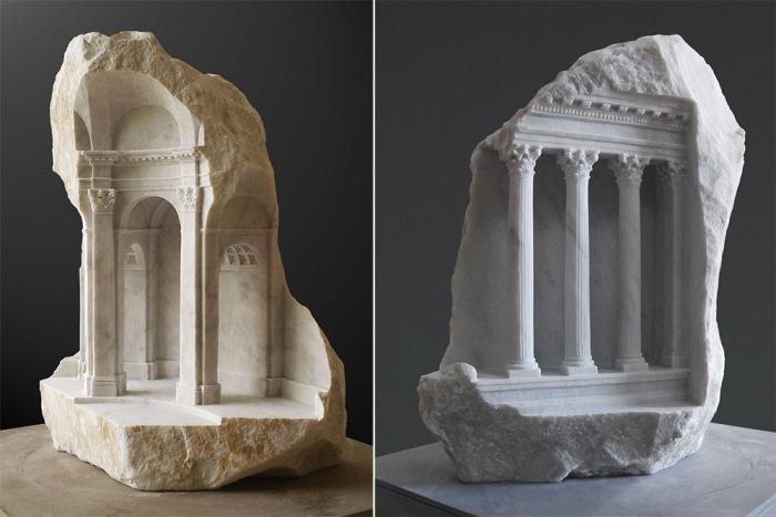 Изысканные изделия из мрамора от Мэтью Симмондса (Matthew Simmonds).