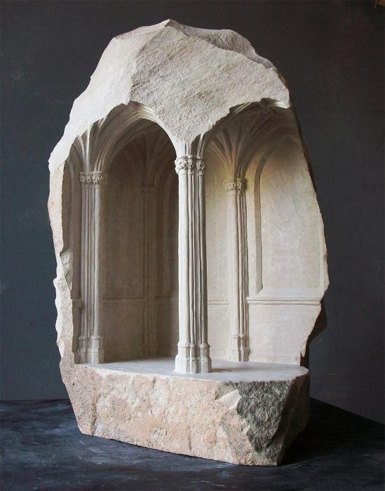 Миниатюрные прототипы древних строений от Мэтью Симмондса (Matthew Simmonds).
