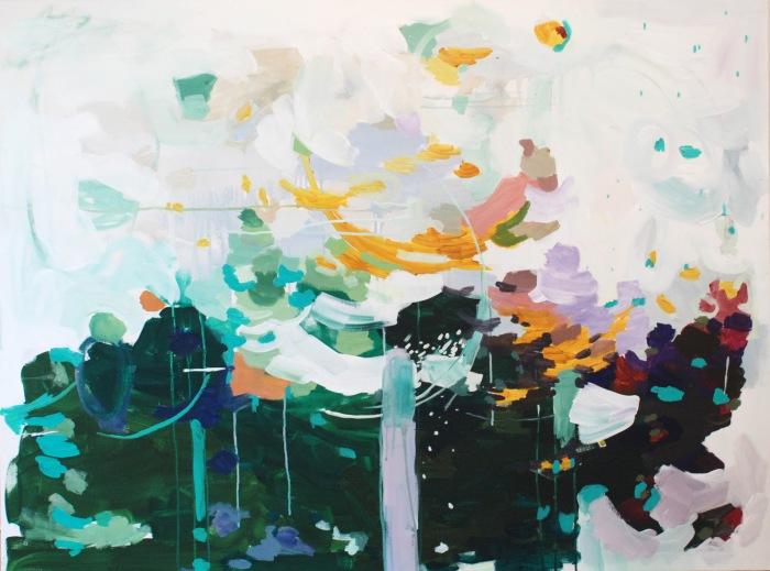 Оригинальные абстракции от Мишель Армас (Michelle Armas).