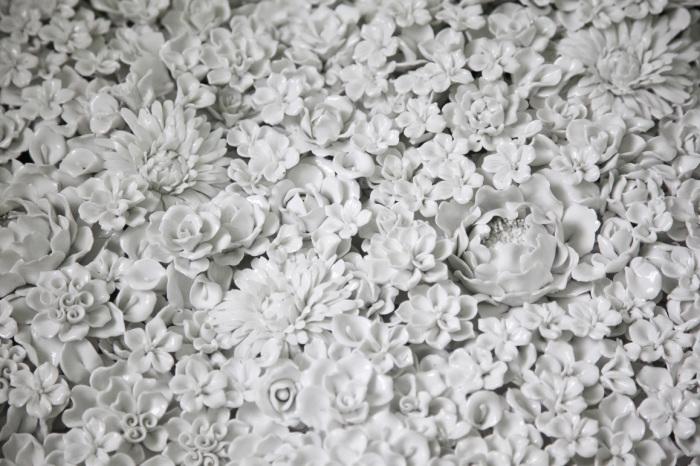Нежные фарфоровые букеты от Ай Вейвей (Ai Weiwei).