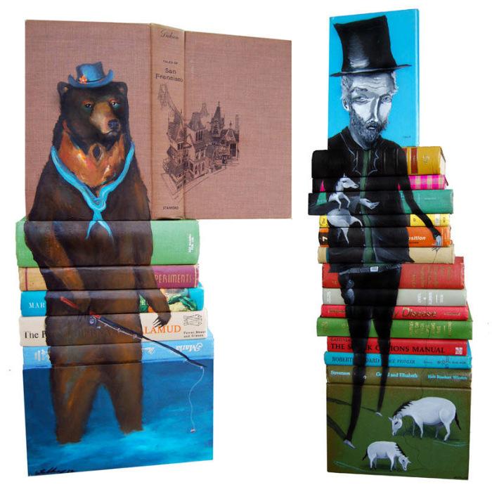 Причудливые картины на обложках книг от Майка Стилки (Mike Stilkey).