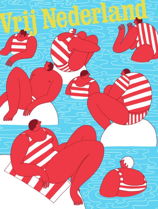 Забавные иллюстрации от голландской художницы.