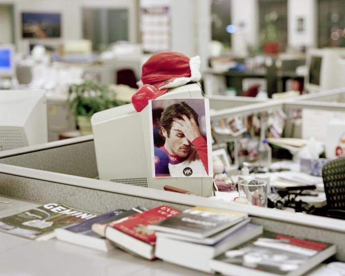 Снимки нелегких будней одной американской редакции.