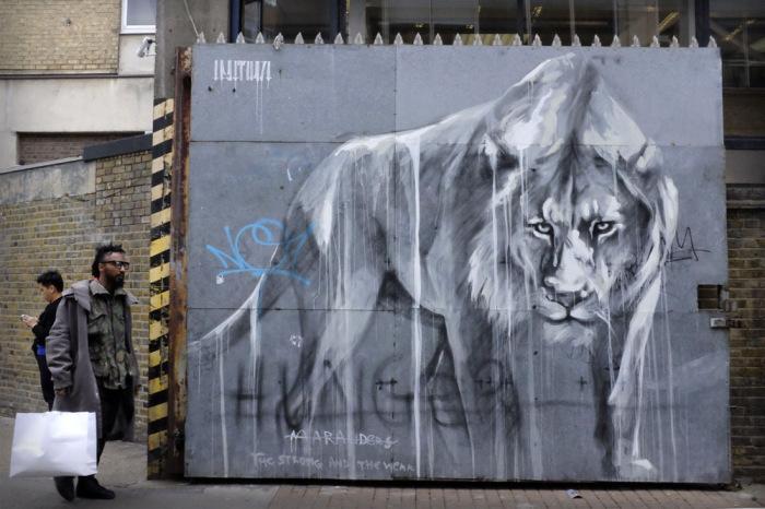 Уличное искусство от Faith47.