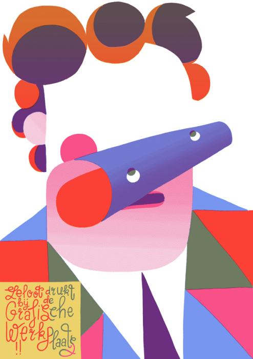 Необычные плакаты от иллюстратора из Голландии.