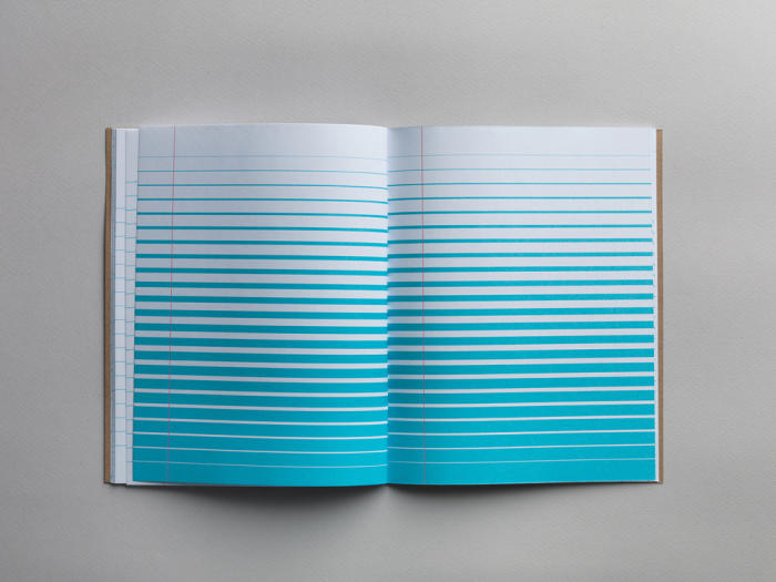 Необычная разлиновка в блокнотах от Marc Thomasset.