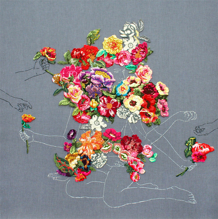 Красочная вышивка от Анны Тереза Барбоса (Ana Teresa Barboza).