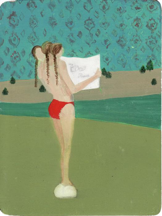 Странная и слегка пугающая картина от Мари Роузен (Marie Rosen).