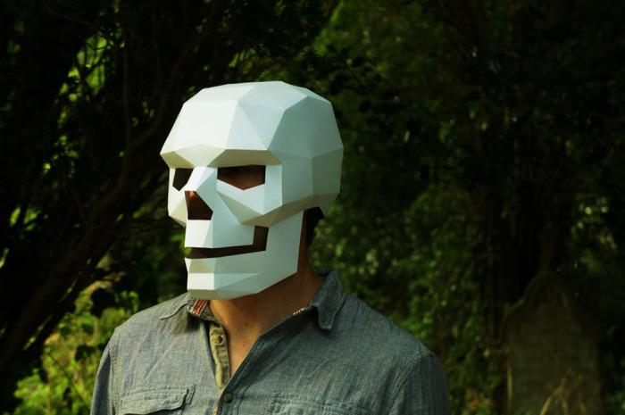 Маска черепа от Steve Wintercroft.