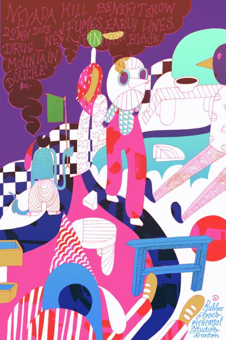 Захватывающие иллюстрации от художницы из Голландии.