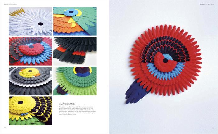 Поделки из цветной бумаги от Marine Coutroutsios.