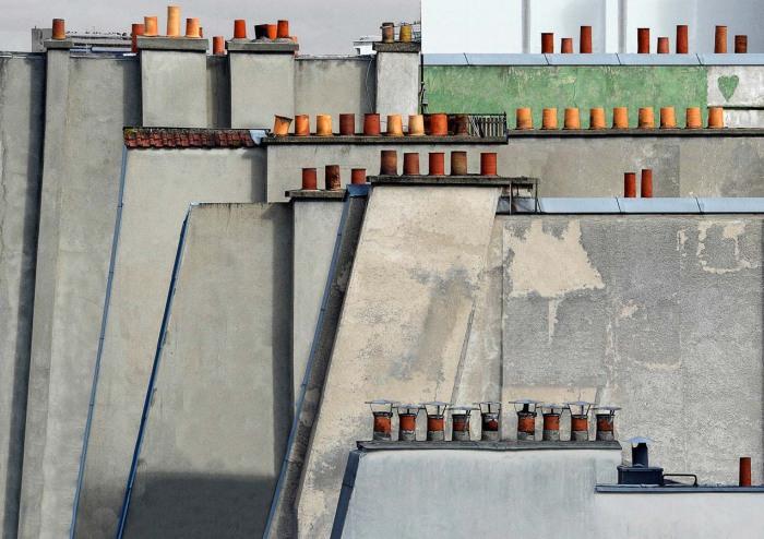 Потрясающие снимки крыш от фотографа из Германии.