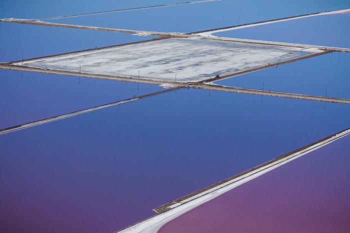 Фотографии соляных прудов от Джулиана Коста (Julieanne Kost).
