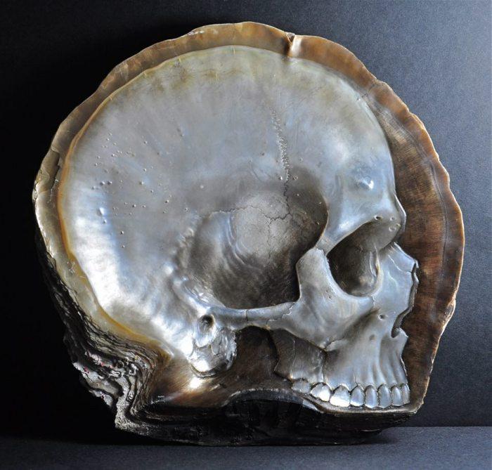 Ракушка-череп от Грегори Халили (Gregory Halili).