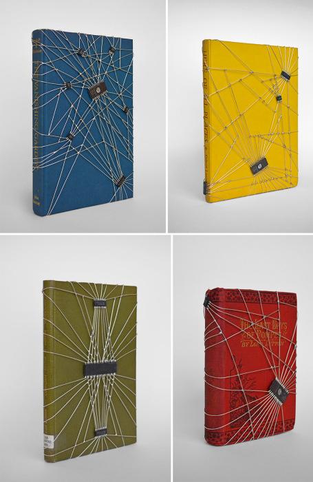 Обложки для книг от Леонарда Юлиана (Leonard Ulian).