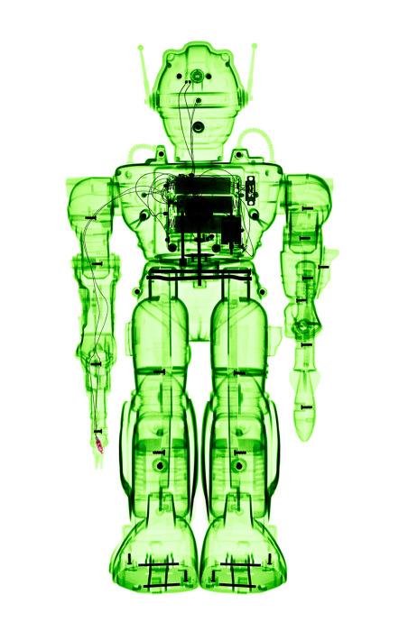 Игрушки под рентгеновскими лучами от Брендана Фитцпатрика (Brendan Fitzpatrick).
