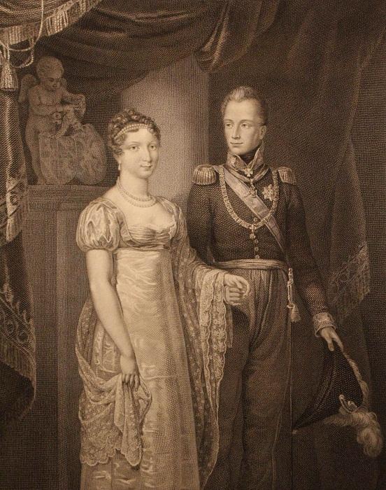 Княгиня Анна Павловна - королева Нидерландов.