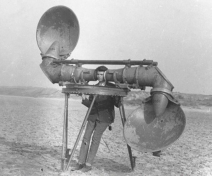 Человек-радар.