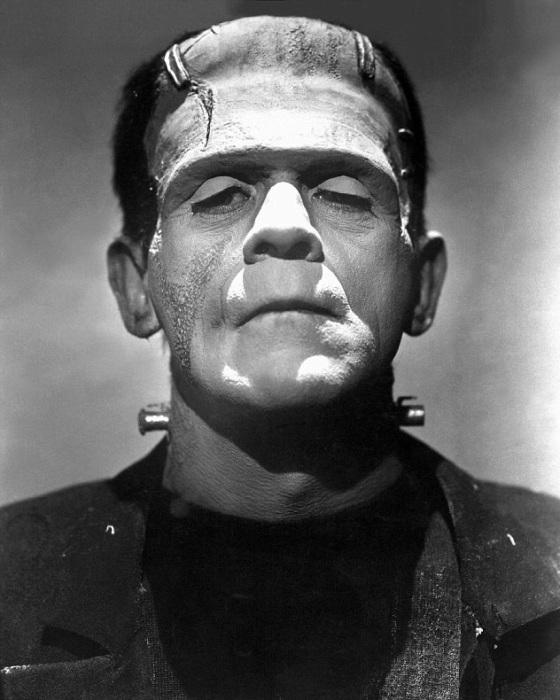 Монстр, созданный доктором Франкенштейном. | Фото: i.dailymail.co.uk.