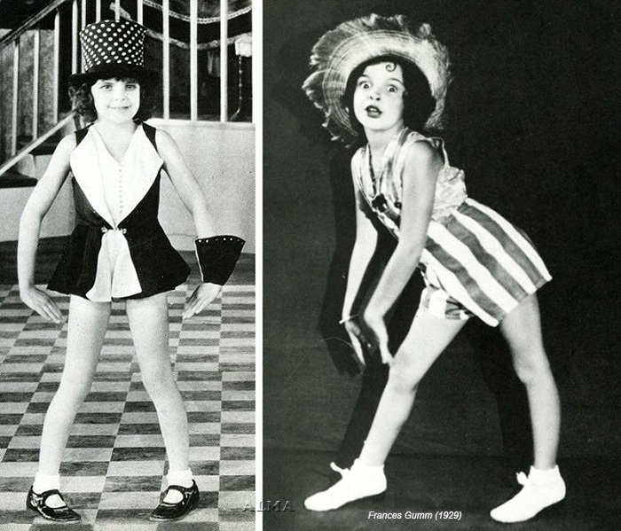 Джуди Гарленд в детстве. | Фото: www.liveinternet.ru