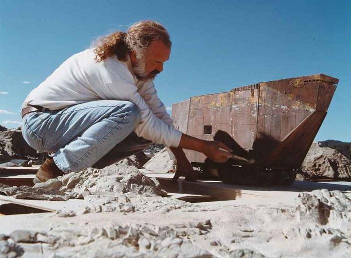 Песчаный краулер в миниатюре.