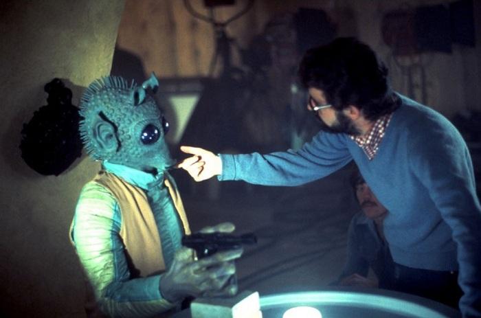 Джорджа Лукас - режиссер «Звездных войн».