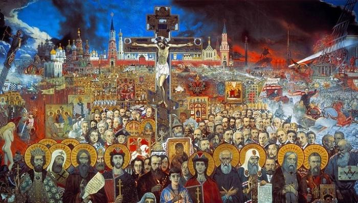 Путь России в сто веков - нескончаемое народное шествие, крестный ход, берущий свое начало из глубины веков.