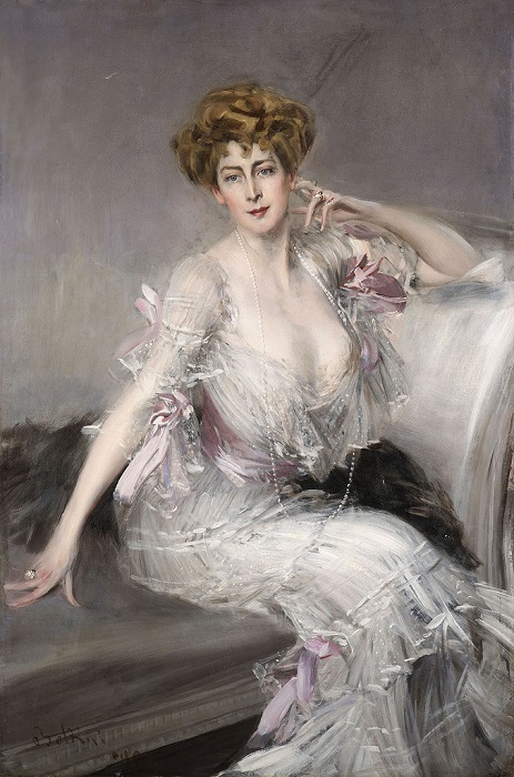 Портрет Анны Элизабет Хансен. Джованни Болдини.| Фото: liveinternet.ru.