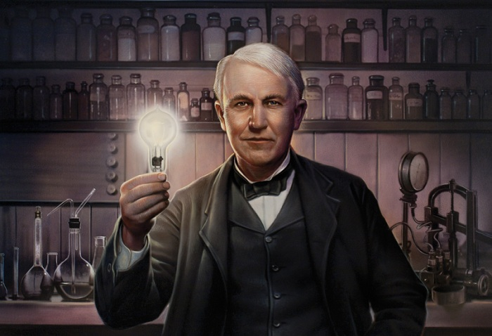 Американский изобретатель Томас Эдисон. | Фото: cdn-images-1.medium.com.