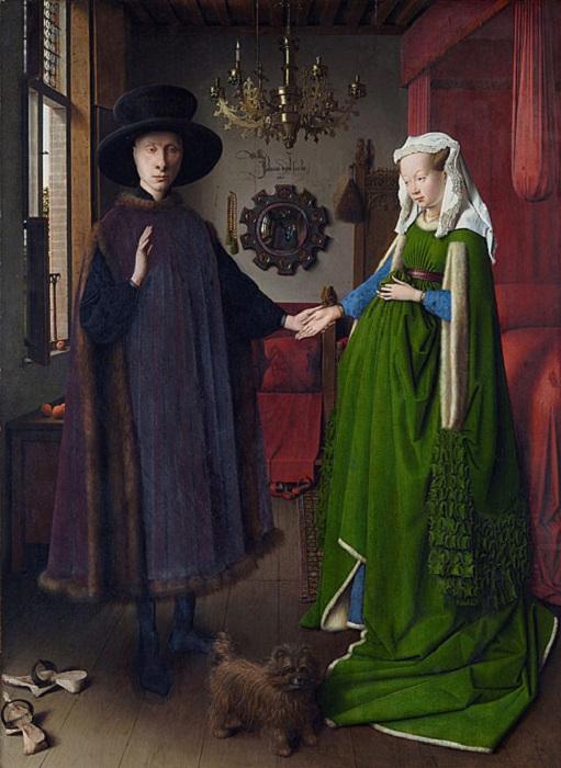 Портрет четы Арнольфини. Ян ван Эйк, 1434 год. | Фото: kultpro.ru.