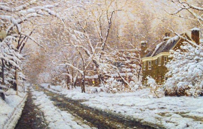 Канадский художник Richard Savoie пишет картины в технике пастель.