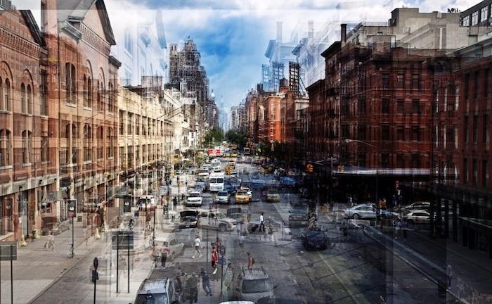 Городские «вибрации» на снимках французского фотографа.