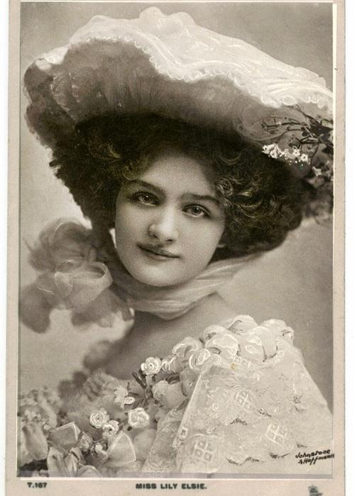 Лили Элси - популярная актриса на рубеже 19-20 вв. | Фото: listal.com.