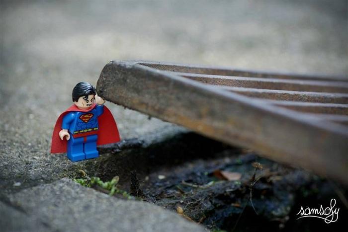 Нереальная сила Супермена. Миниатюра от Samsofy.
