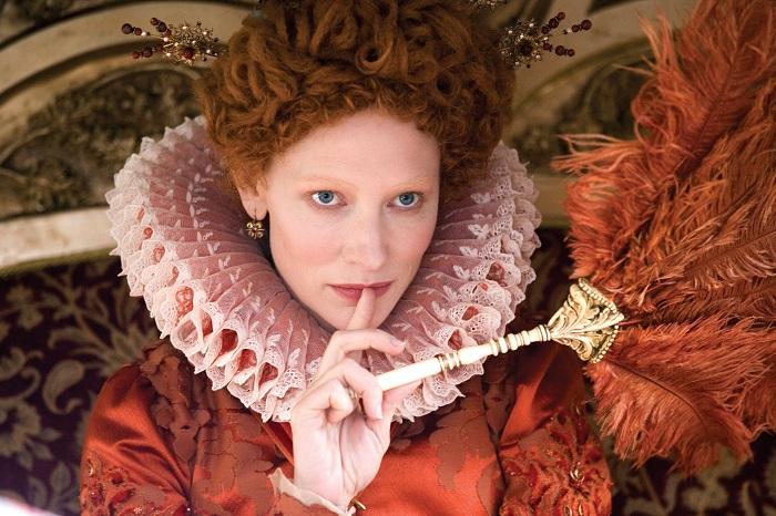 Актриса Кейт Бланшет в роли Елизаветы I.