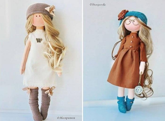 Интерьерные куклы от Олеси Нестратовой.