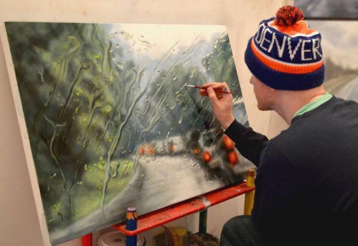 Ирландский художник рисует гиперреалистичные картины.