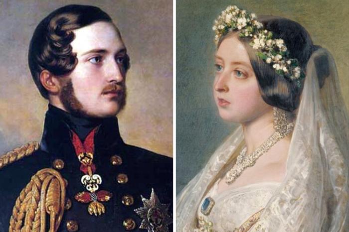 Принц Альберт Саксен-Кобург-Готский и британская королева Виктория. | Фото: 4.bp.blogspot.com.