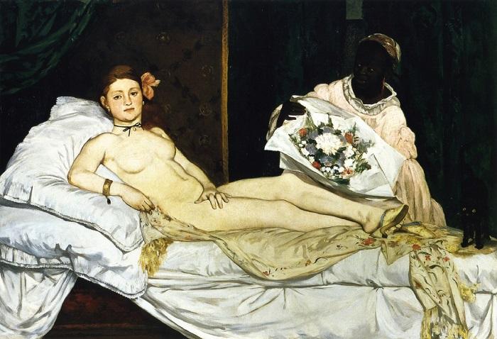 Олимпия. Эдуард Мане, 1863 год. | Фото: nevsepic.com.ua.