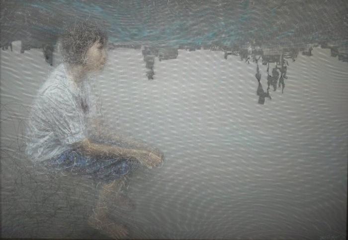 Картина, нарисованная художником Uttaporn Nimmalaikaew.
