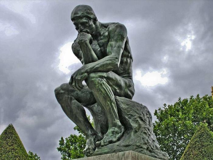 «Мыслитель» Огюста Родена