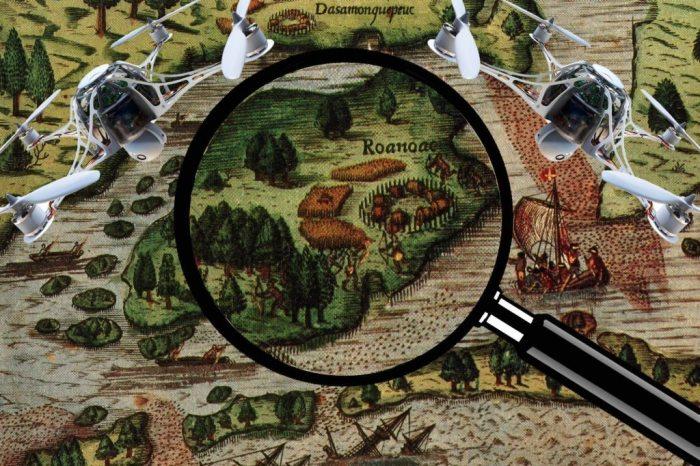 В поисках поселения Роанок. | Фото: quincy.business.