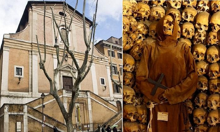 Санта-Мария-делла-Кончеционе - церковь монахов-капуцинов в Риме.