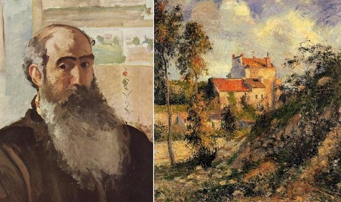 Камиль Писсарро - французский живописец-импрессионист.