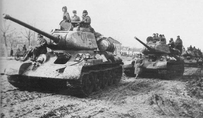 Танки времен Второй мировой войны. | Фото: fb.ru.