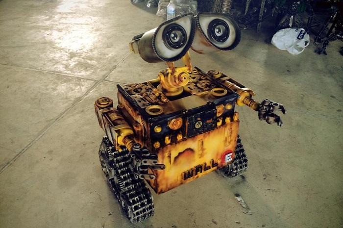 Фигура робота Валли.