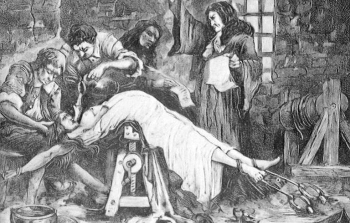 Самые изощренные пытки для женщин. | Фото: s.ciekawostkihistoryczne.pl.