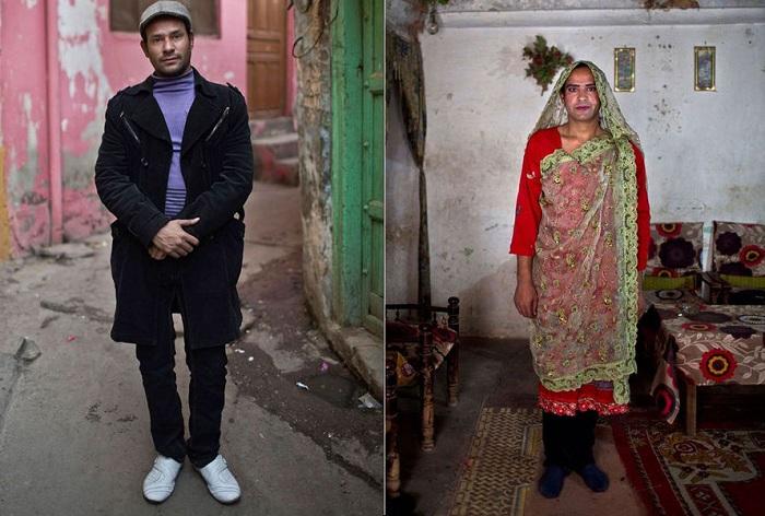 Представитель «третьего пола» в Пакистане. | Фото: moya-planeta.ru.