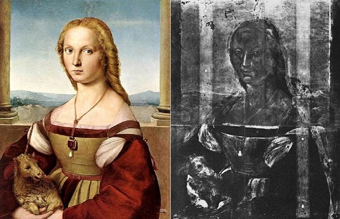 Дама с единорогом. Рафаэль, 1506 год.